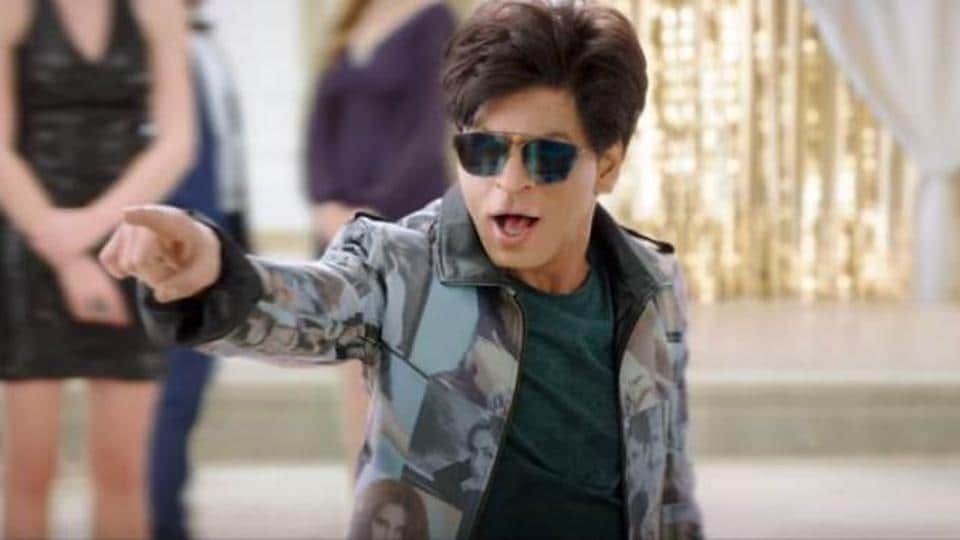 Shah Rukh Khan in a still from Zero.