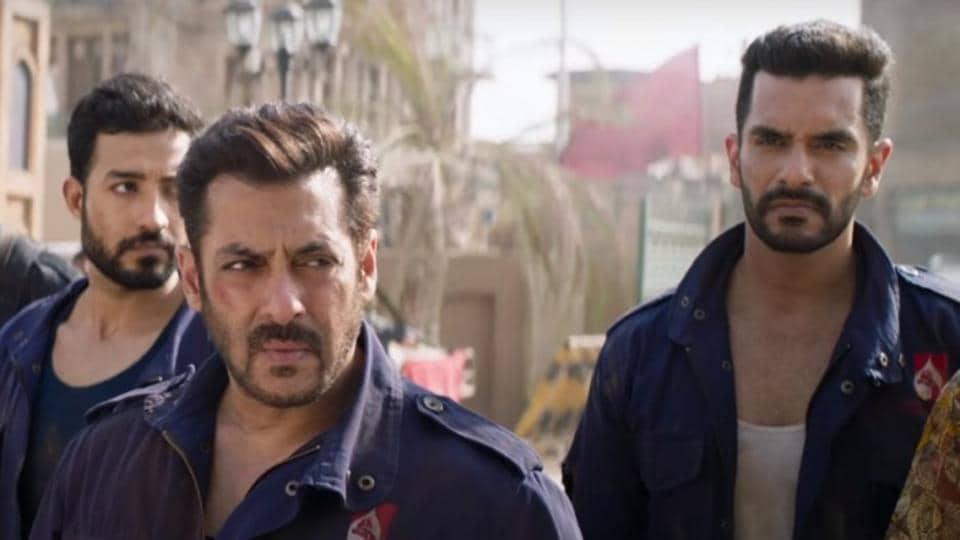 Angad Bedi,Salman Khan,Tiger Zinda Hai