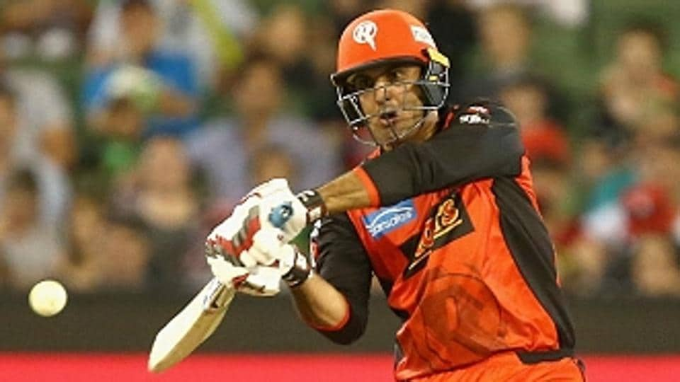 Mohammad Nabi scored a half century to guide Melbourne Renegades to a six-wicket win over Melbourne Stars in the Big Bash League.