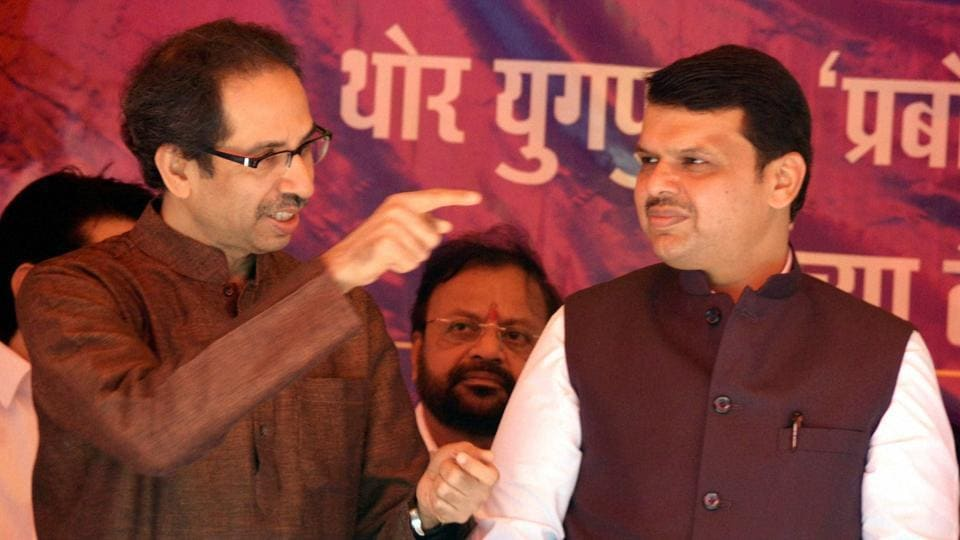 So far, the Sena had refrained from taking on Fadnavis personally as he and Sena chief Uddhav Thackeray share a good rapport.