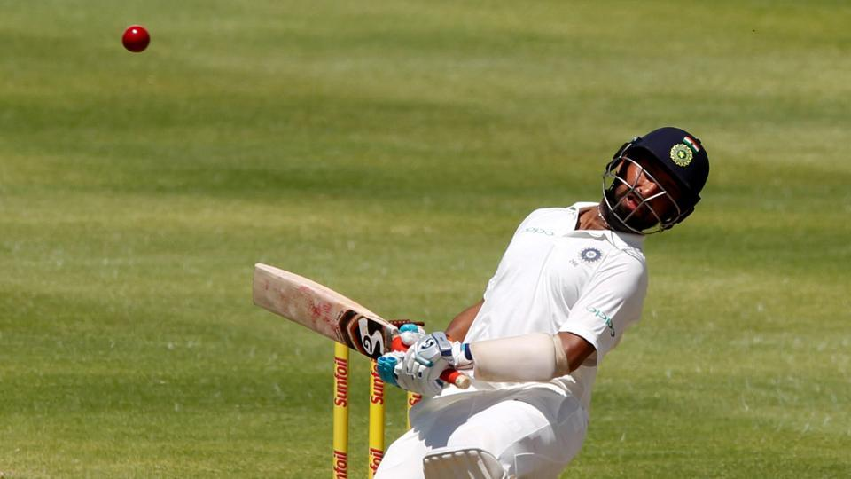 Cheteshwar Pujara held firm as India staged a mini-recovery. (REUTERS)
