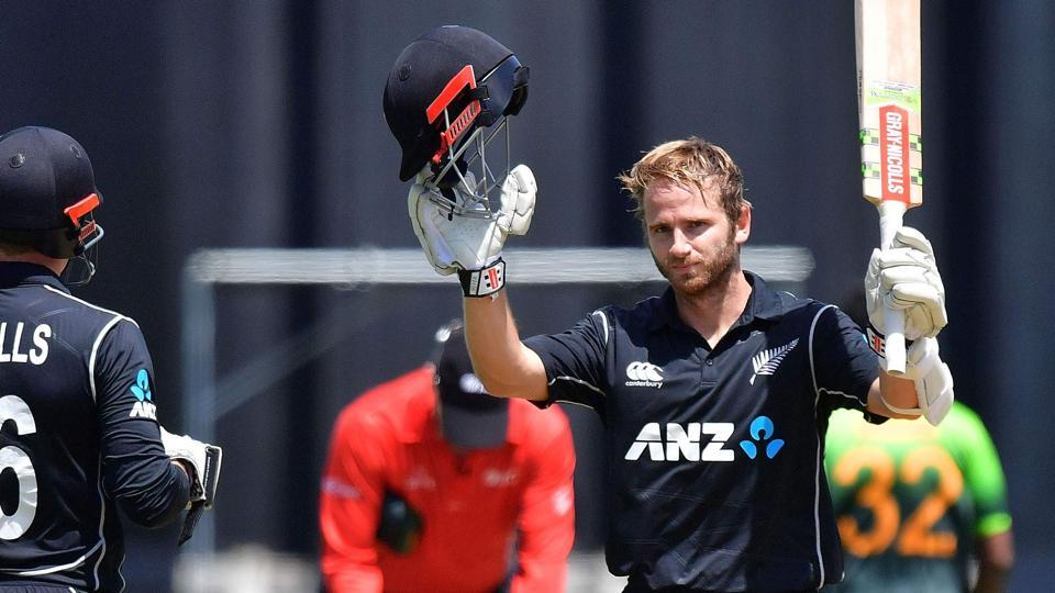 Kane Williamson notched up his 10th ODI century as New Zealand ended Pakistan's nine-match ODI winning streak in the first match at Wellington.