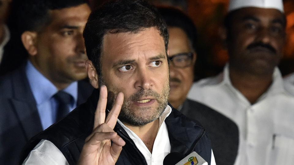 Rahul Gandhi targets government over Lokpal appointment