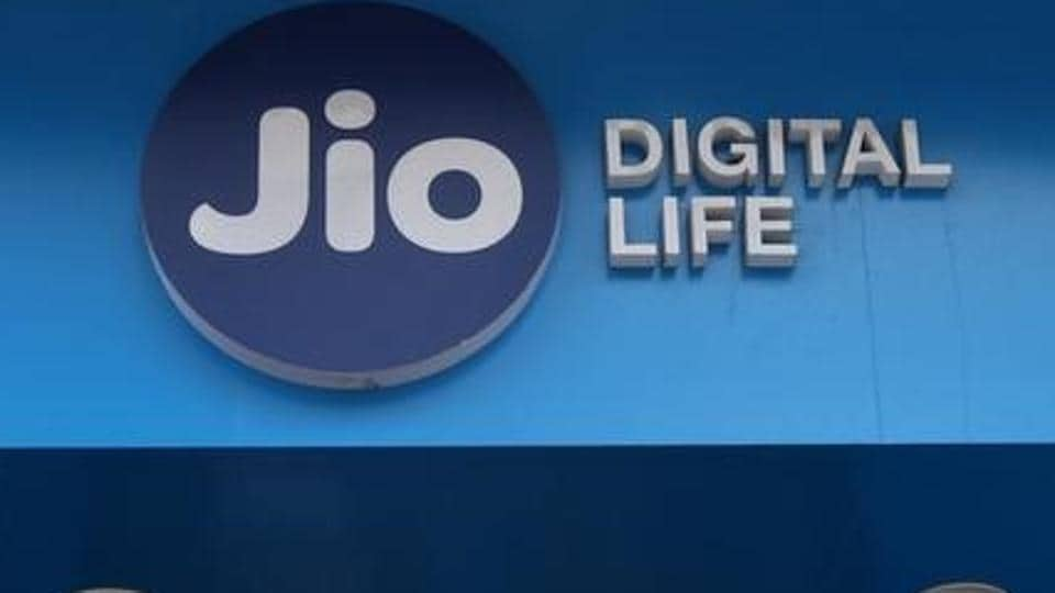 A mobile store of Reliance Industries' Jio telecoms unit in Mumbai.
