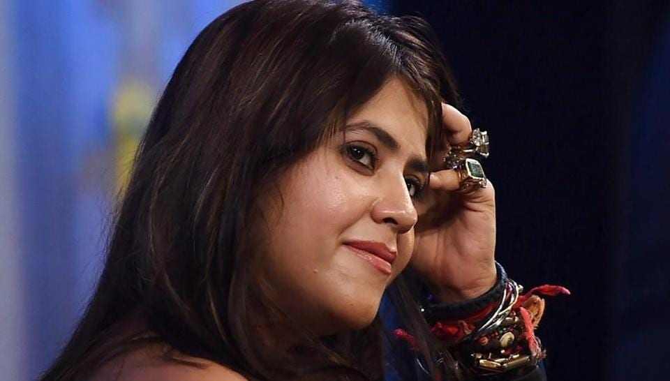 Ekta Kapoor at We The Woman summit in Mumbai.