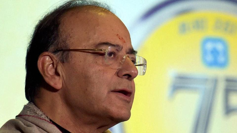 Finance minister Arun Jaitley said India, despite beingthe largest democracy in the world,has not been able to evolve a transparent political funding system in the last seven decades.