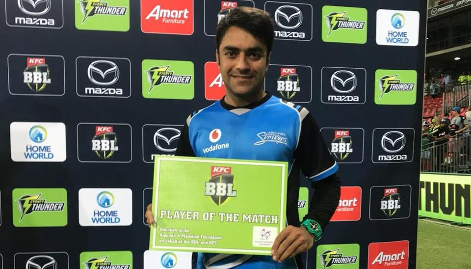Big Bash League,BBL,Rashid Khan