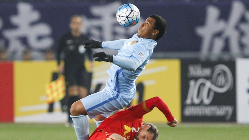 Roger Martinez  joined Jiangsu Suning from Racing Club in 2016 and had been tipped to move eventually to Inter Milan, but is set to join Villarreal in the La Liga.