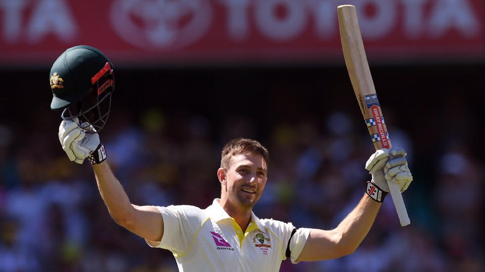 Shaun Marsh notched up his sixth century and his second in he Ashes series against England as Australia started off well. (AFP)