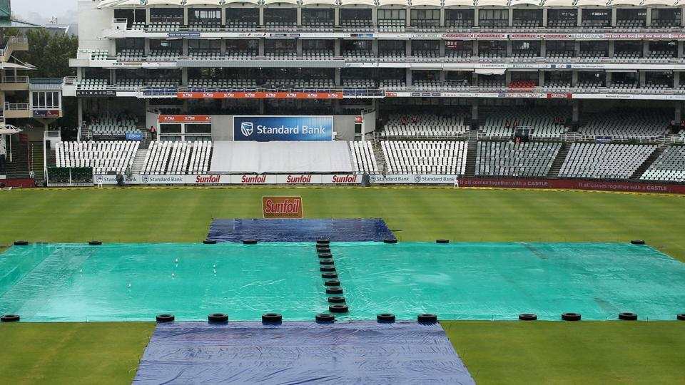 Persistent rain washed out the entire third day of the first Test between South Africa and India at Newlands Stadium in Cape Town. Get highlights of India vs South Africa, 1st Test, here.