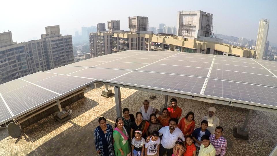 Mumbai news,Mumbai residents,solar panel