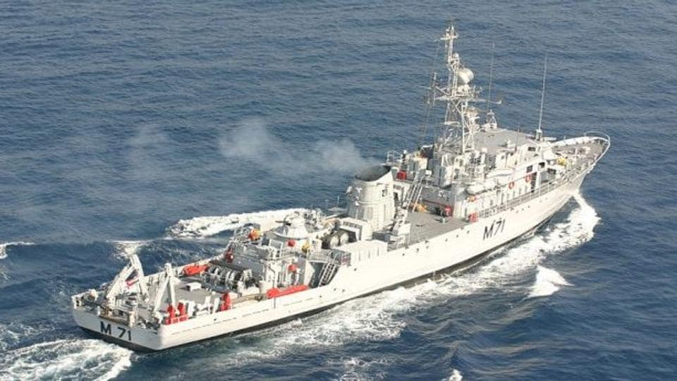 12 new mine counter-measure vessels (MCMVs) were to be built at Goa Shipyard Limited (GSL) in collaboration with a Busan-based yard, Kangnam Corporation.