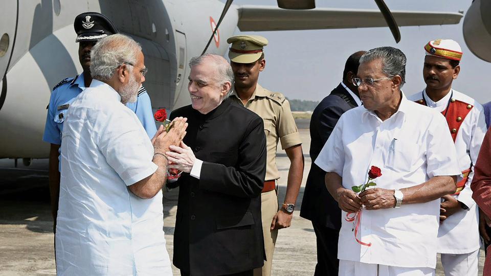 Pinarayi Vijayan,Narendra Modi,Kerala chief minister