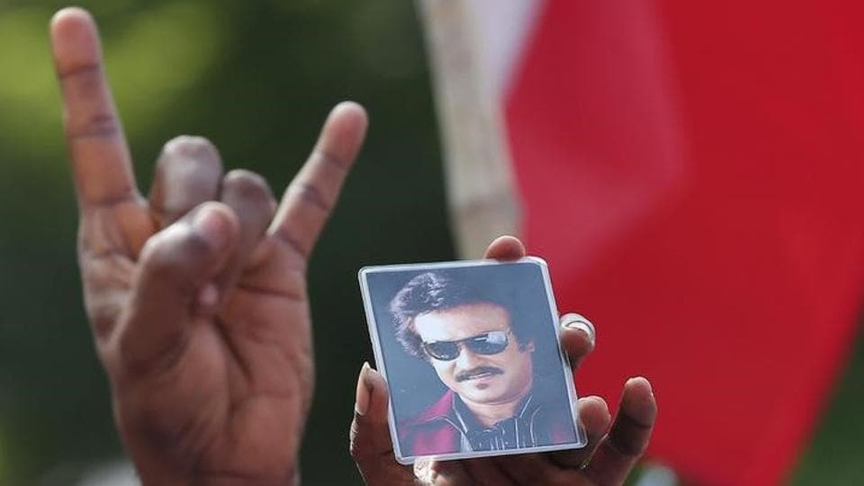 Rajinikanth Hand Symbol Similar To Ours Mumbai Startup India News