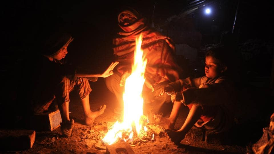 Cold wave intensifies,Punjab cold wave,Haryana cold wave