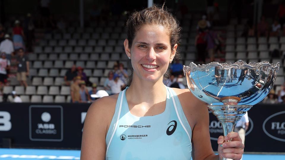 Julia Goerges,Caroline Wozniacki,WTA Auckland Classic