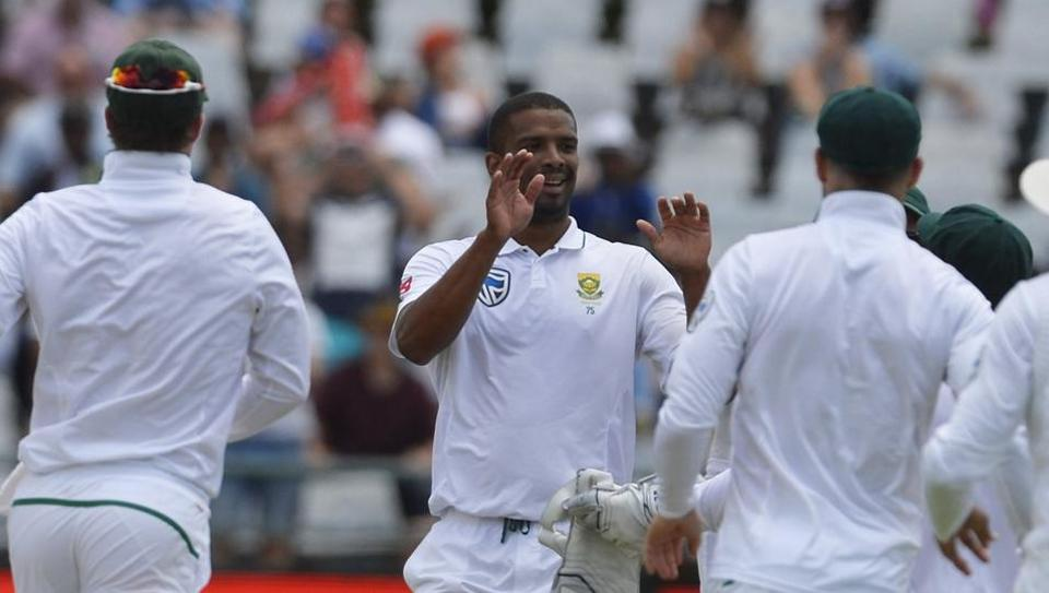 Riding on Vernon Philander's six-wicket haul, South Africa defeated India by 72 runs in Cape Town to go 1-0 up in the three-Test series. (BCCI )
