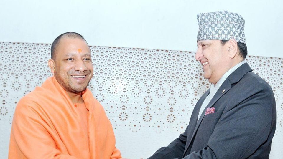 Yogi Adityanath,Nepal,Nepal king