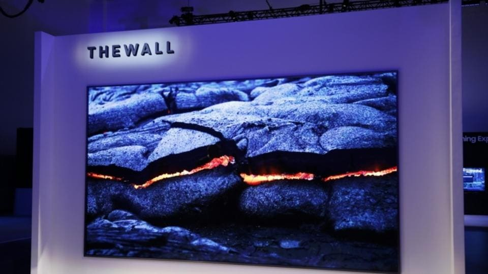 CES 2018: Samsung unveils The Wall, a massive 146-inch microLED TV