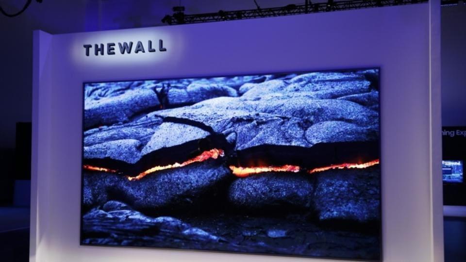 Samsung,Samsung The Wall,Samsung Modular TV