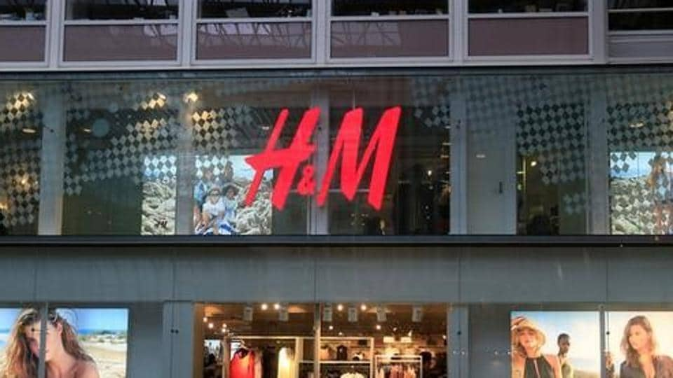 H&M shop is seen in the Oslo City shopping center in Oslo, Norway, June 3, 2017.