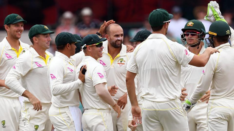 Australia for their part never looked too troubled, knowing victory in the final Test was well within their reach going into the final day.  (AFP)