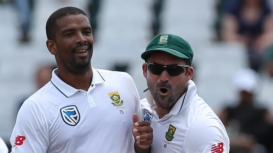 Vernon Philander celebrates the wicket of Murali Vijay during day four of the first Test match between South Africa and India at the Newlands Cricket Ground in Cape Town. Get full cricket score of India vs South Africa, first Test, Day 4, here.