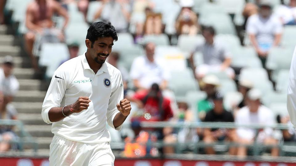 Jasprit Bumrah joined the party as he removed Faf du Plessis and Quinton de Kock.  (BCCI )