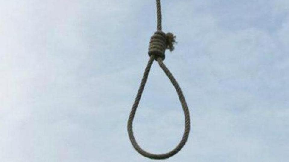 Shankar Vishwakarma's wife found her husband's body hanging from the ceiling of their bedroom.