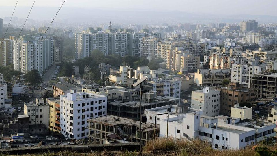 A view of Ambegaon, a newly included village in the Pune Municipal Corporation. In Pune, GIS mapping and GPS technology were used to closely monitor accruals. This helped increase revenues by 50% in just one year while correspondingly the house tax rate was raised by only 10%