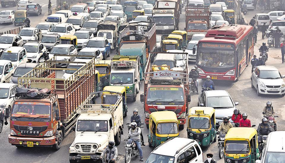 Delhi pollution,Delhi air quality,Delhi pollution hotspot