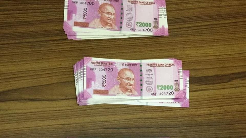 Directorate of Revenue Intelligence seized 211 fake Indian currency notes of 2000 denomination.