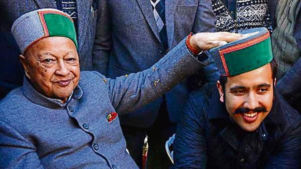 HP assembly session,father-son duo,Virbhadra Singh