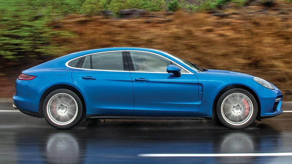 Porsche has unveiled an all-new Panamera seven years after the first model.