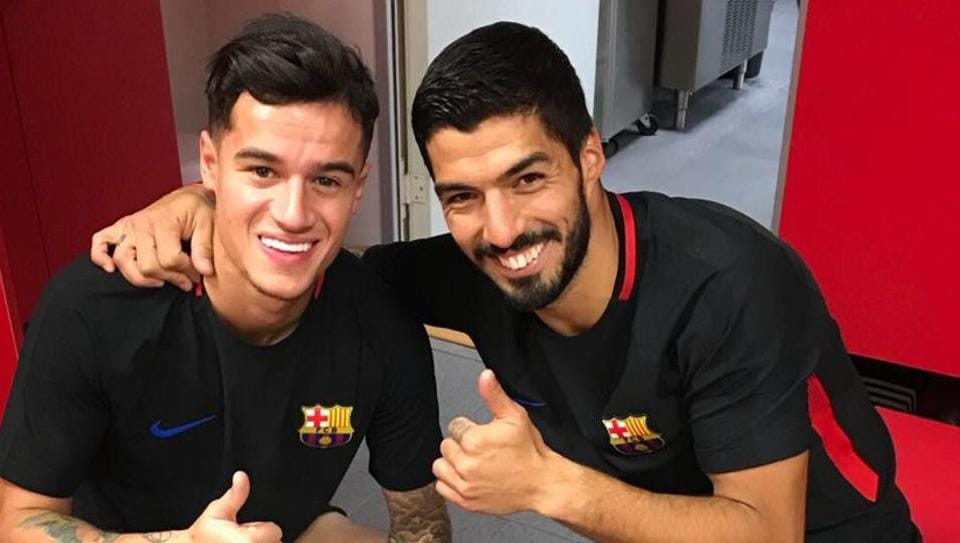 Luis Suarez, who played alongside Philippe Coutinho at Anfield until he joined FC Barcelona in 2014, is looking forward to great success alongside his new teammate.