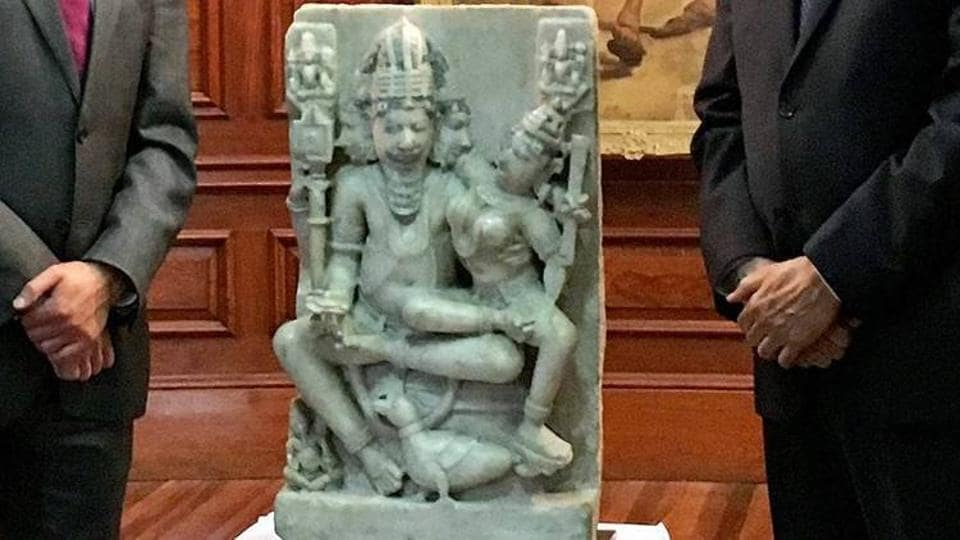 Brahma-Brahmani idol,Stolen Idol,India
