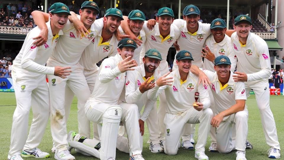 Australian cricket team won the Ashes 4-0 against England at home.
