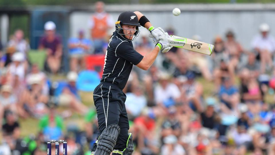 Martin Guptill's knock of 87 guided New Zealand to their revised target of 151 vs Pakistan at the Saxton Oval in Nelson today.
