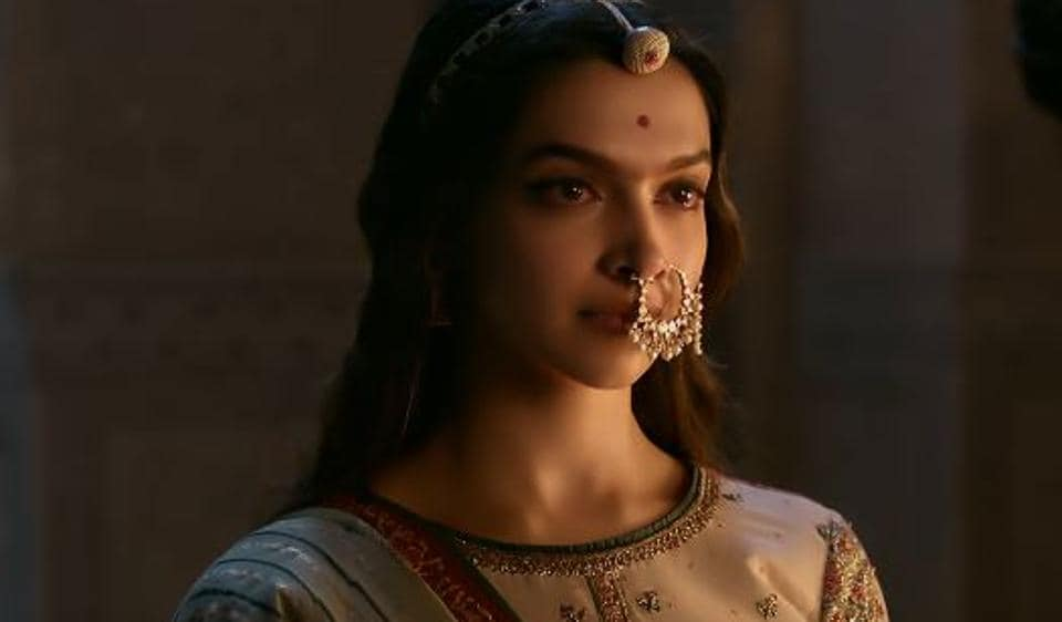 Deepika Padukone in a still from Padmavat.