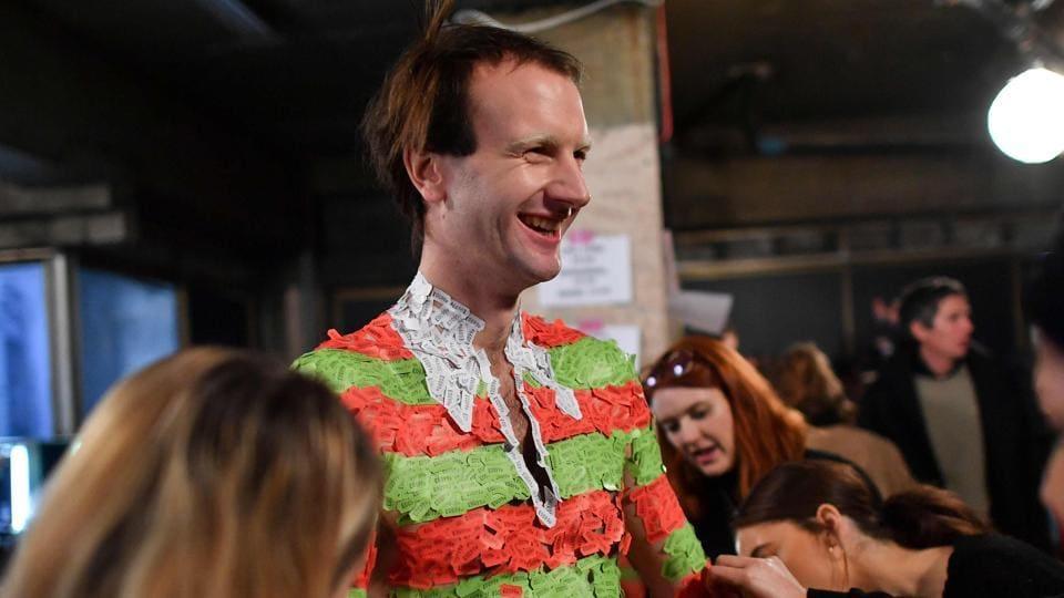 London Fashion Week men's,London Fashion Week men's 2018,Gender fluid clothes