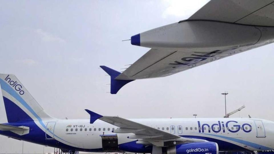 A file photo of IndiGo Airlines A320 aircraft. The airline has been ranked 4th in the list of the world's most punctual 'mega carriers' by travel analyst firm OAG.