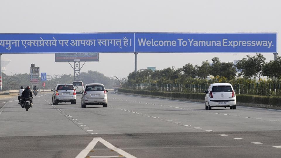 1km Diversion On Yamuna Expressway From Today For 15 Days To Facilitate Road Work