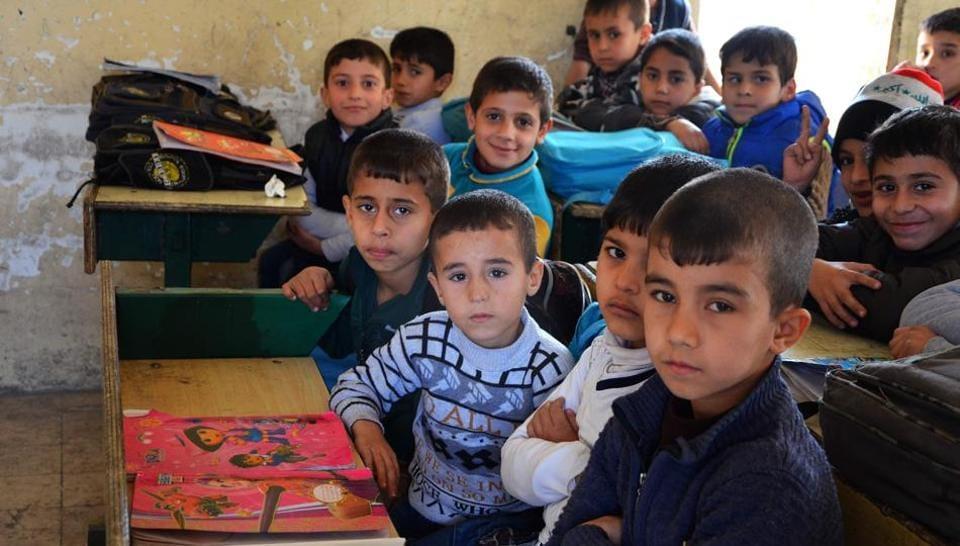 Mosul,Iraq,Iraqi schoolchildren