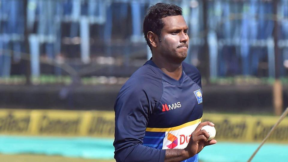 Angelo Mathews has been reappointed Sri Lanka's limited overs captain.