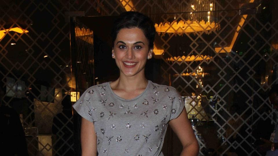 Actor Taapsee Pannu's last film, Judwaa 2, crossed the Rs 100 crore mark in about  eight days.