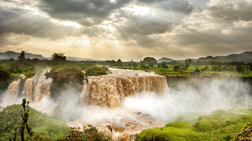 This sight of the Blue Nile Falls is unforgettable.