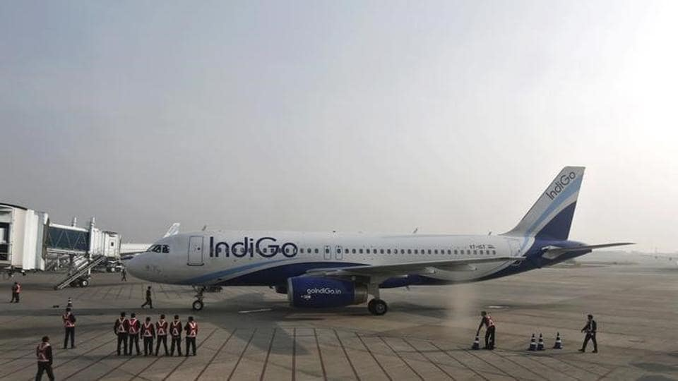 The aircraft, which took off from Mumbai airport at 10.30pm, had 183 passengers on board.