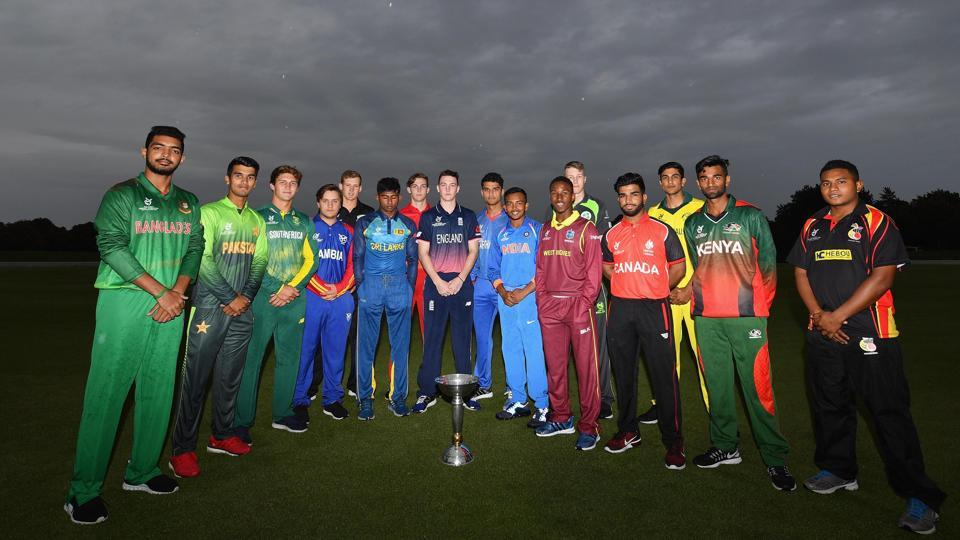 The ICC U-19 Cricket World Cup will feature 16 teams and starts from January 13.