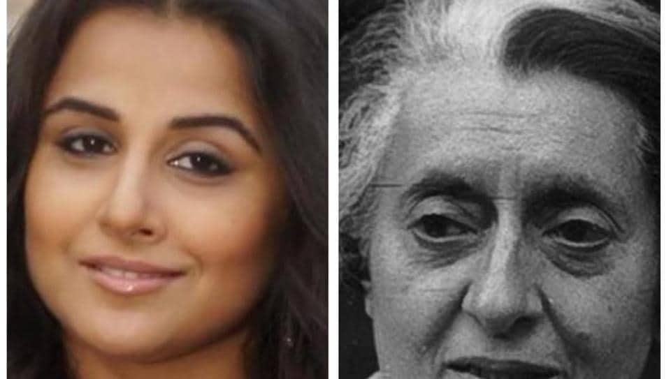 Vidya Balan To Star In Film Adaptation Of Indira Gandhi Book