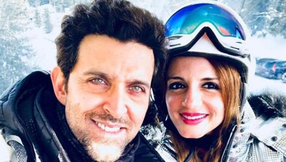 Hrithik Roshan and Sussanne Khan prove that exes can be friends.